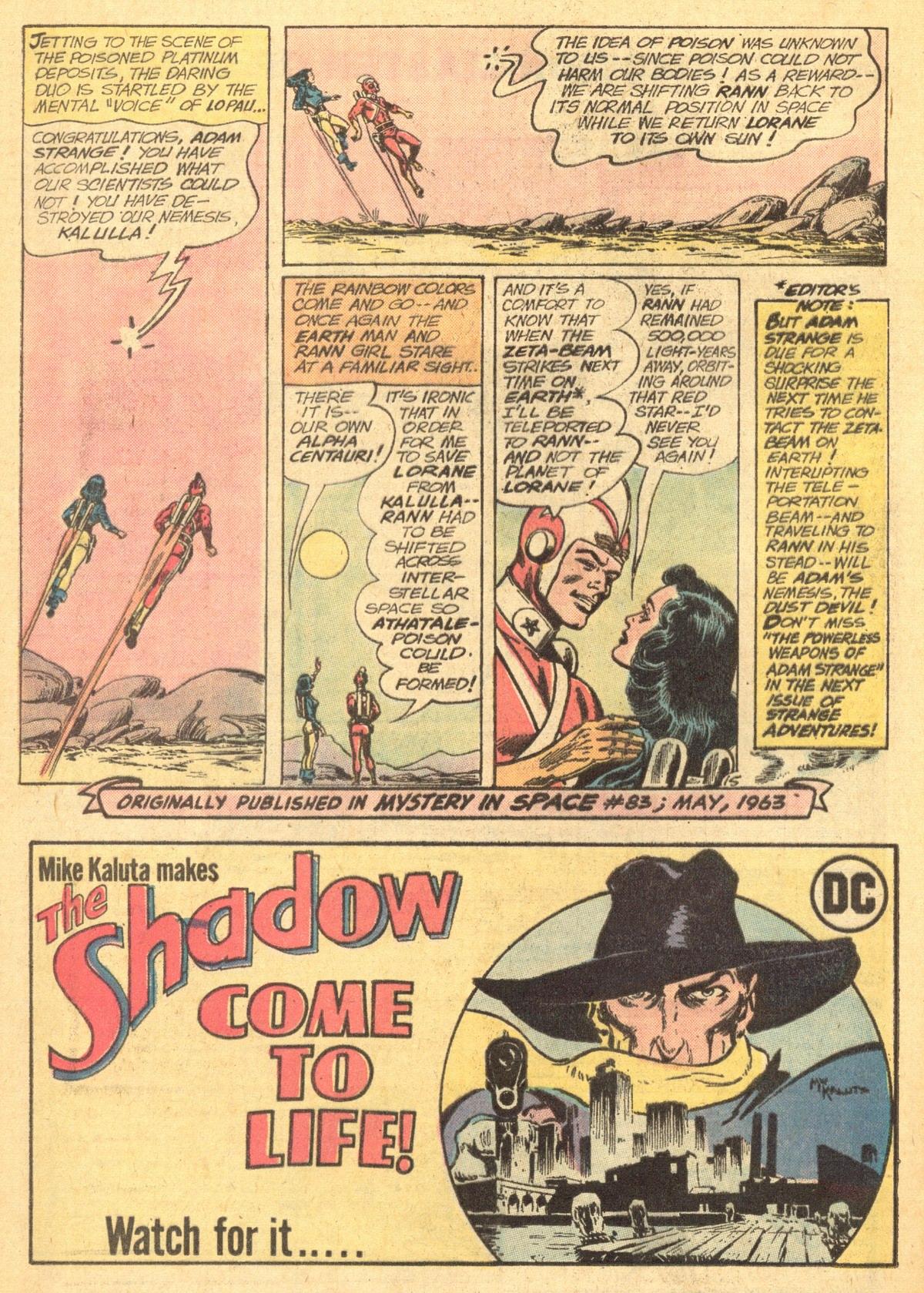 Strange Adventures (1950) issue 243 - Page 20