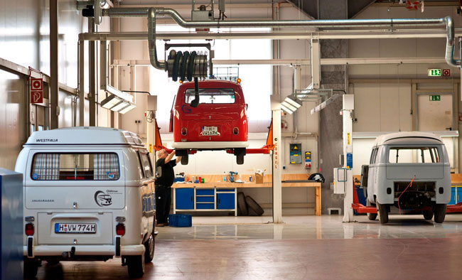 VW Bus Restoration Facility