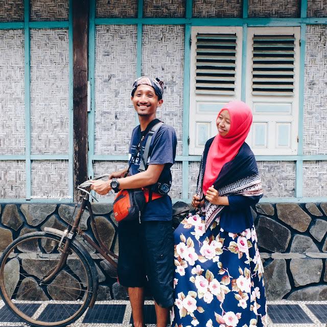 wisata sepeda onthel di desa wisata malangan yogyakarta
