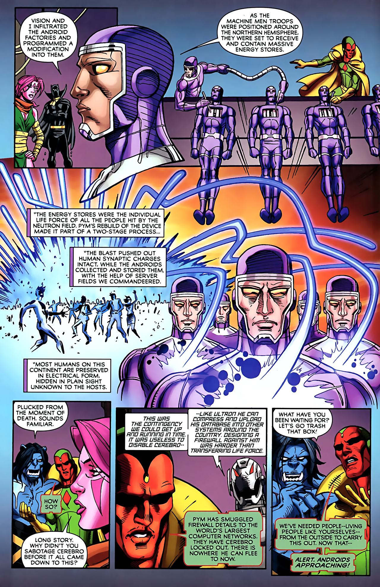 Read online Exiles (2009) comic -  Issue #5 - 10
