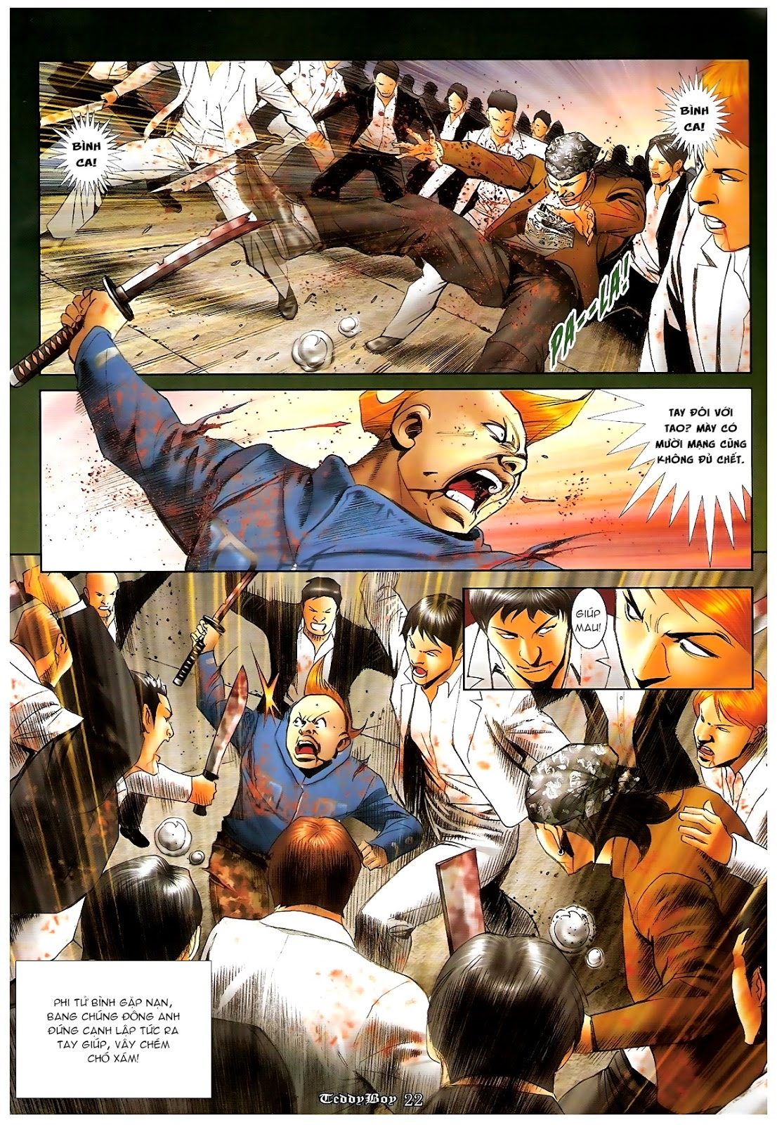 Người Trong Giang Hồ - Chapter 1230: Người thứ tư lên đường - Pic 17