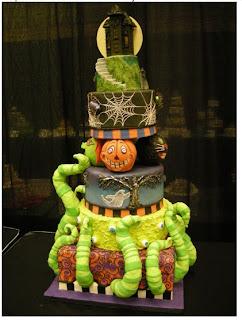 Halloween cake - cake