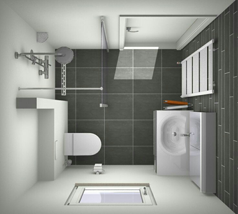 the best and most efficient small bathroom design and