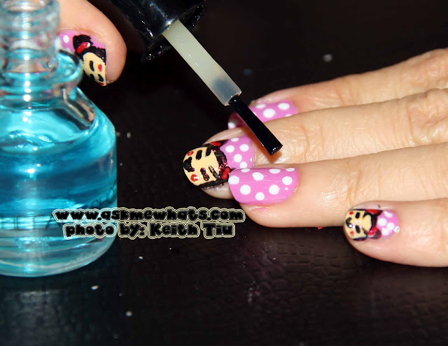 a photo of Pucca Nail Art Tutorial