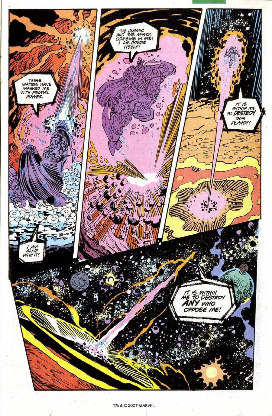 Read online Silver Surfer (1987) comic -  Issue #73 - 23