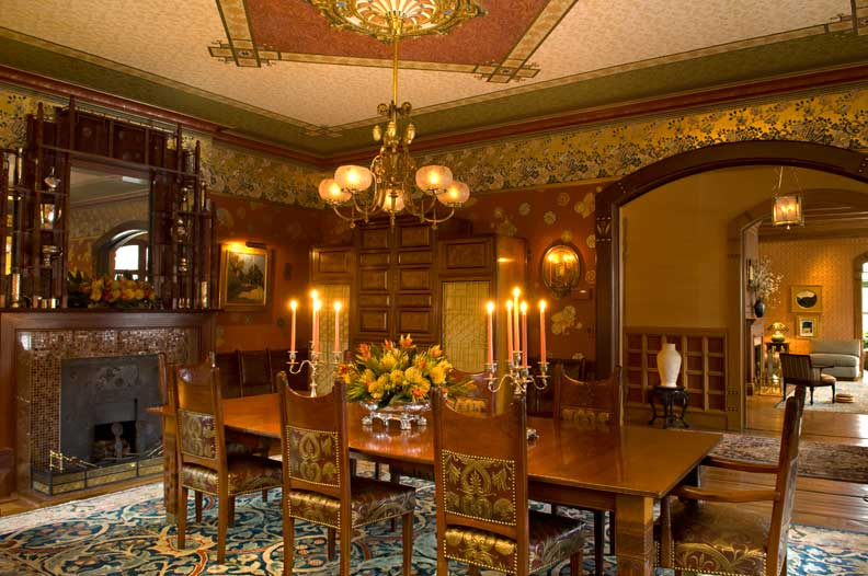 Victorian Dining Room: Domythic Bliss: Victorian Decorating