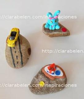 http://clarabelen.com/inspiraciones/6049/como-hacer-un-pisapapeles-con-piedras-y-juguetes-reciclados-para-el-dia-del-padre/