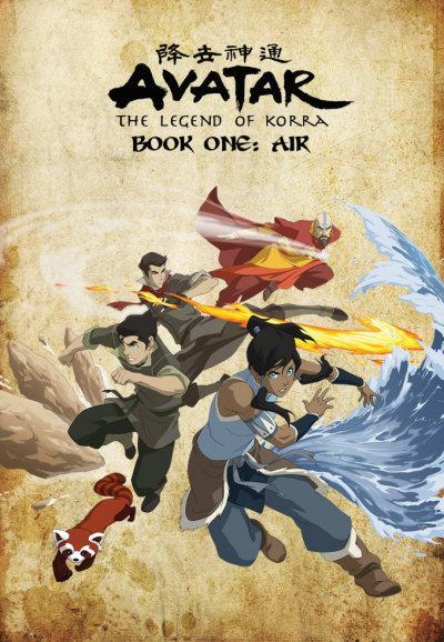 Avatar, la leyenda de Korra, libro AIRE (12/12) (177MB) (HDL) (Latino) (Mega)