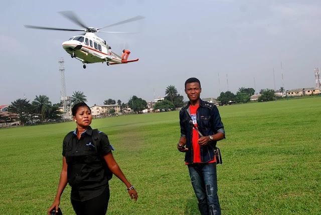 Jessica Emezina on field work