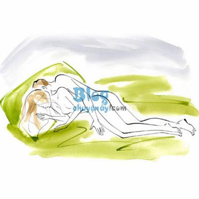 tư thế quan hệ cực khoái dễ sinh con giúp nữ