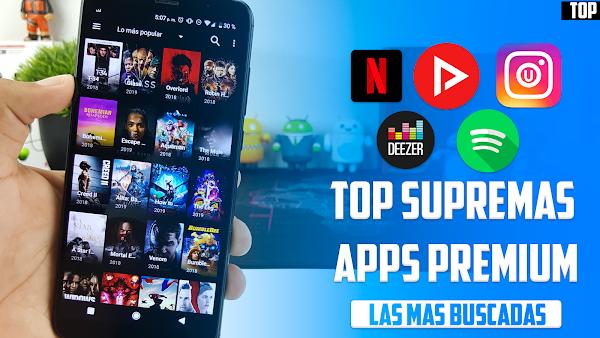 Top 5 Aplicaciones PREMIUM CON TODO ILIMITADO Mas Buscadas Febrero 2019 | Mejores apps android