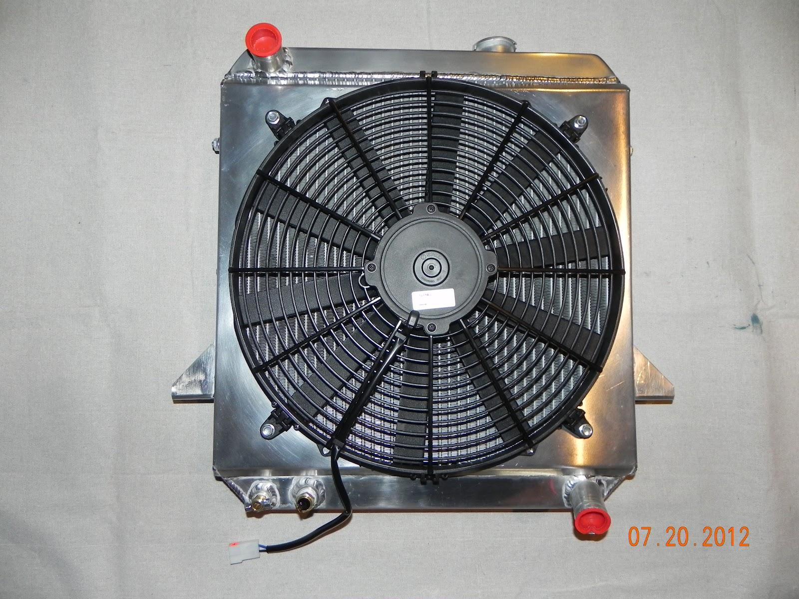 tripp's tr6: radiator time