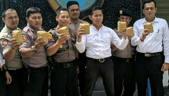 Heboh, Polisi Terlanjur Rilis Sabu, Barang Bukti 7 Kg Ternyata Batu Tawas