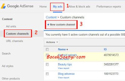 cara-membuat-costum-channel-adsense