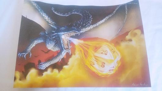 Poster Fire Ball