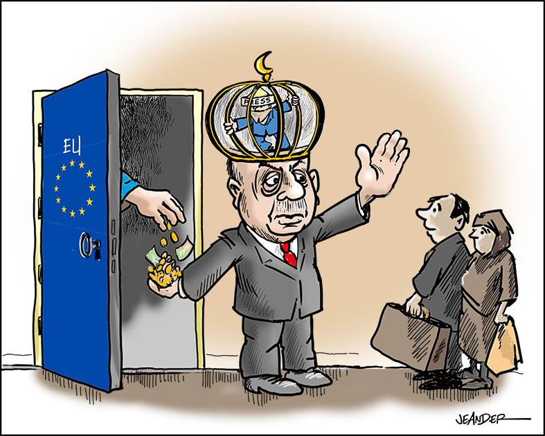 Dörrvakten - Turkiets president Erdogan