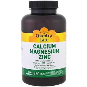 Country Life - Calcium Magnesium Zinc