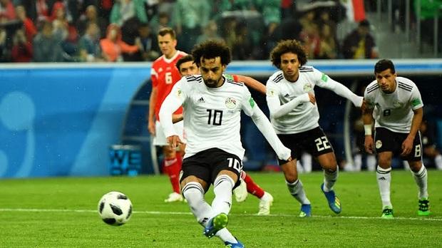 Vidéo - Mondial 2018: l'Égypte de Mohamed Salah se fait laminer par la Russie