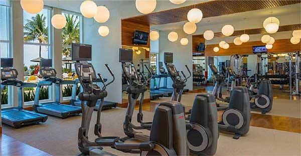 phòng tập Gym hiện đại của dự án
