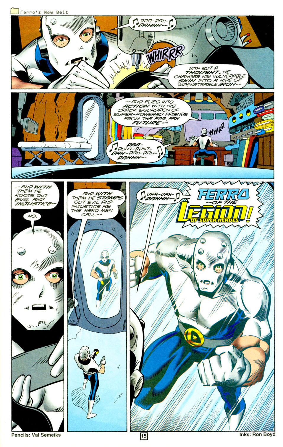 Legion of Super-Heroes (1989) 94 Page 15