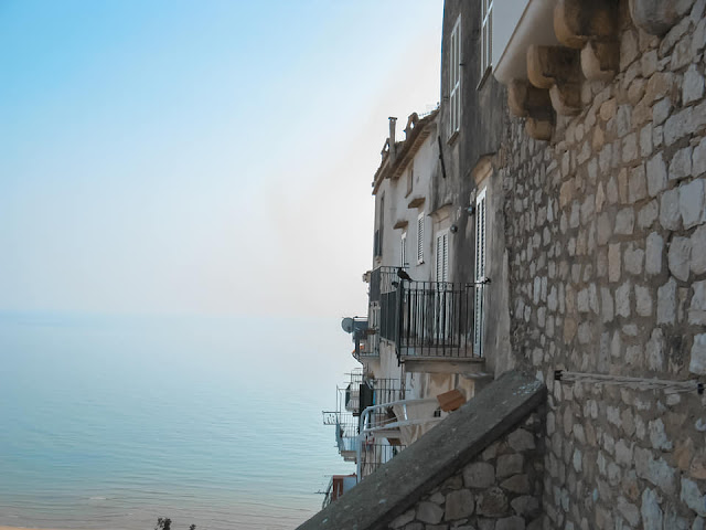 Panoramica dal Corso San Leone di Sperlonga