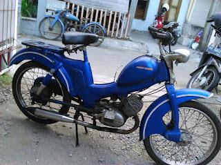 Moped Klasik Montor Pancal Zundapp 50CC - JOGJA