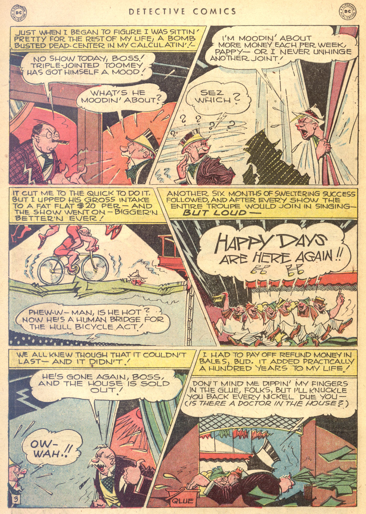 Read online Detective Comics (1937) comic -  Issue #134 - 32