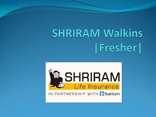 Shriram Life Insurance Fresher Walkins For Tamil & Telugu Cutomer Care Services