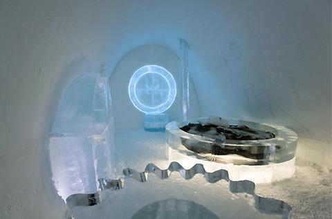 Hotel coldest Icehotel Sweden