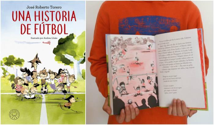 cuentos y libros infantiles juveniles para +8, 12 años una historia de fútbol