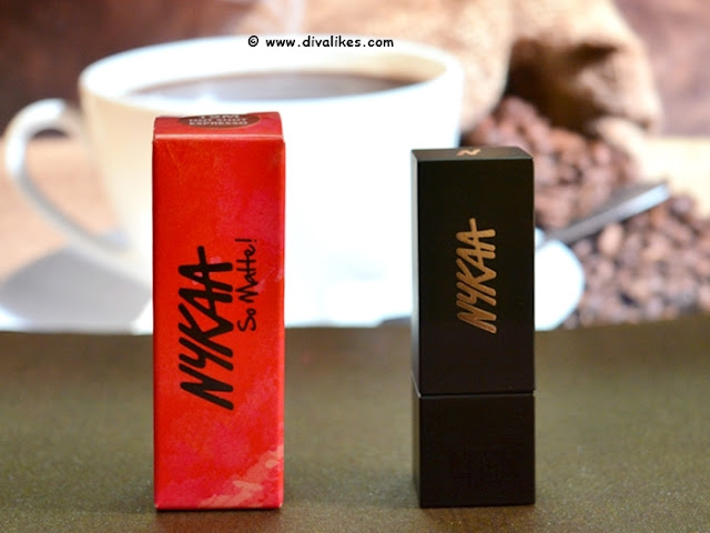 Nykaa So Matte Fall Winter Lipstick Hot Shot Espresso 19M