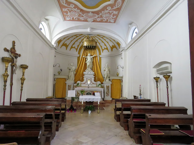 The chapels of Piran Slovenia