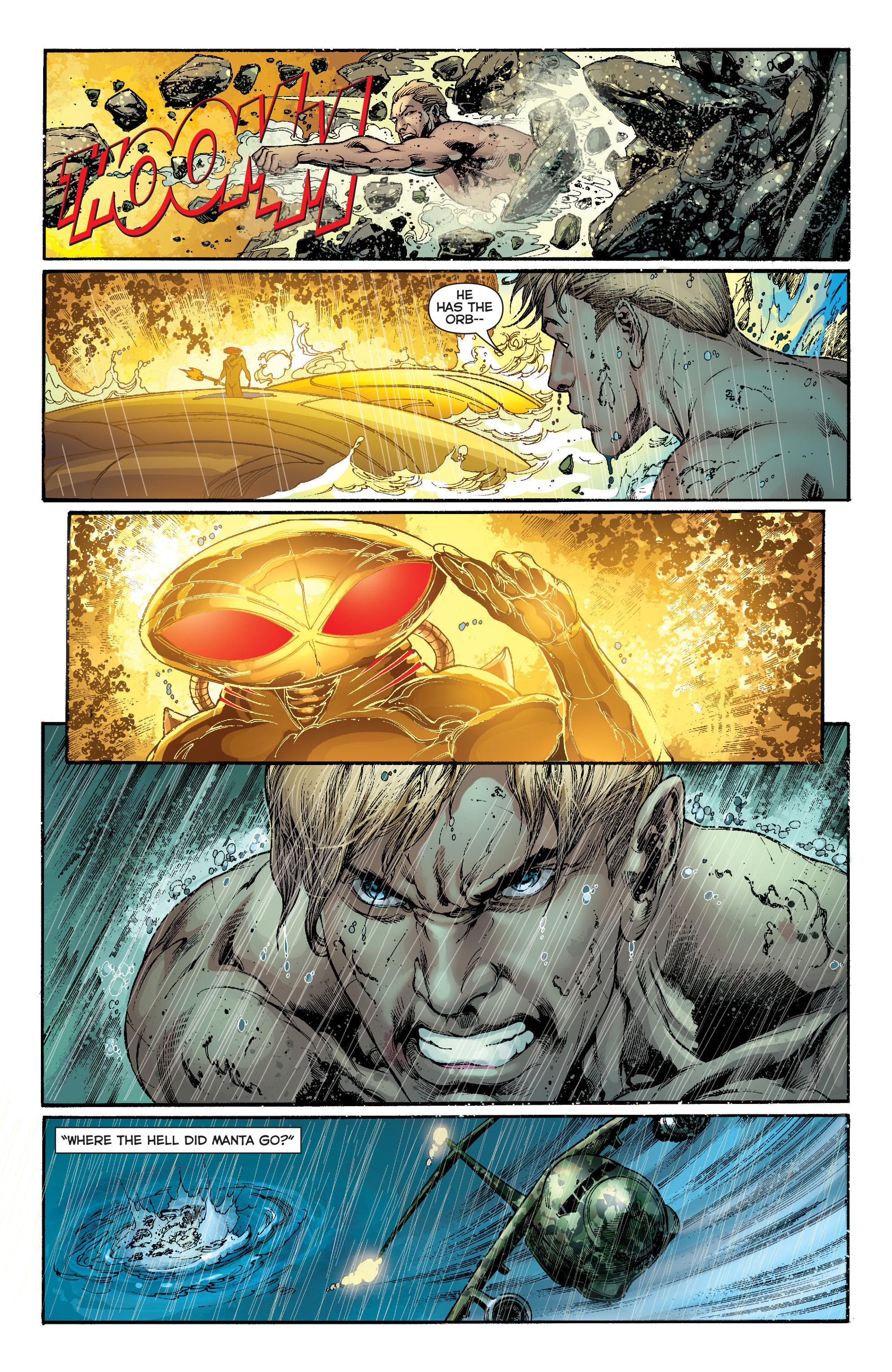 Read online Aquaman (2011) comic -  Issue #13 - 5