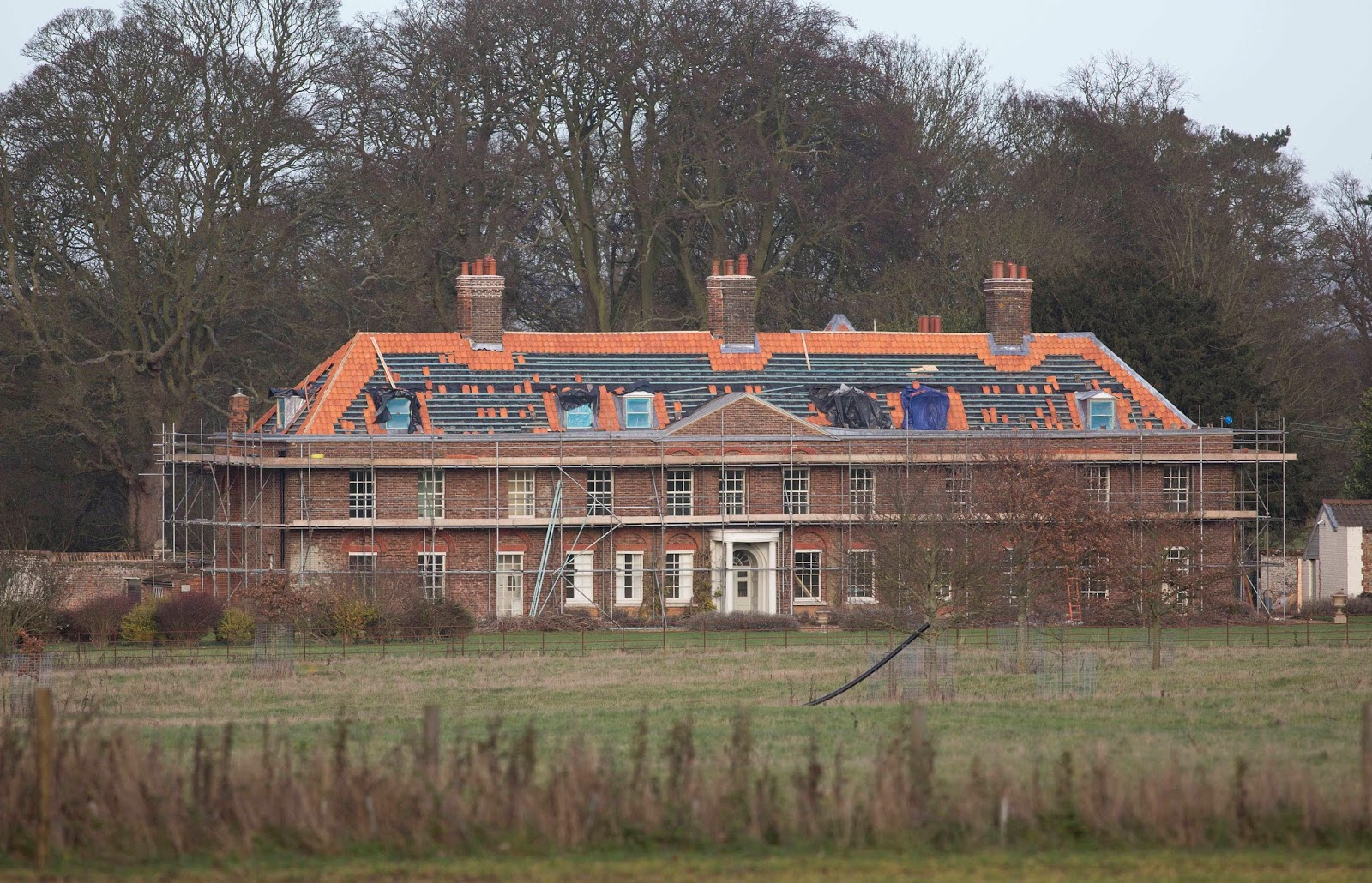 Anmer Hall Undergoing Renovations Last Year Splashnews
