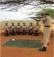 Rifle ke standing Position