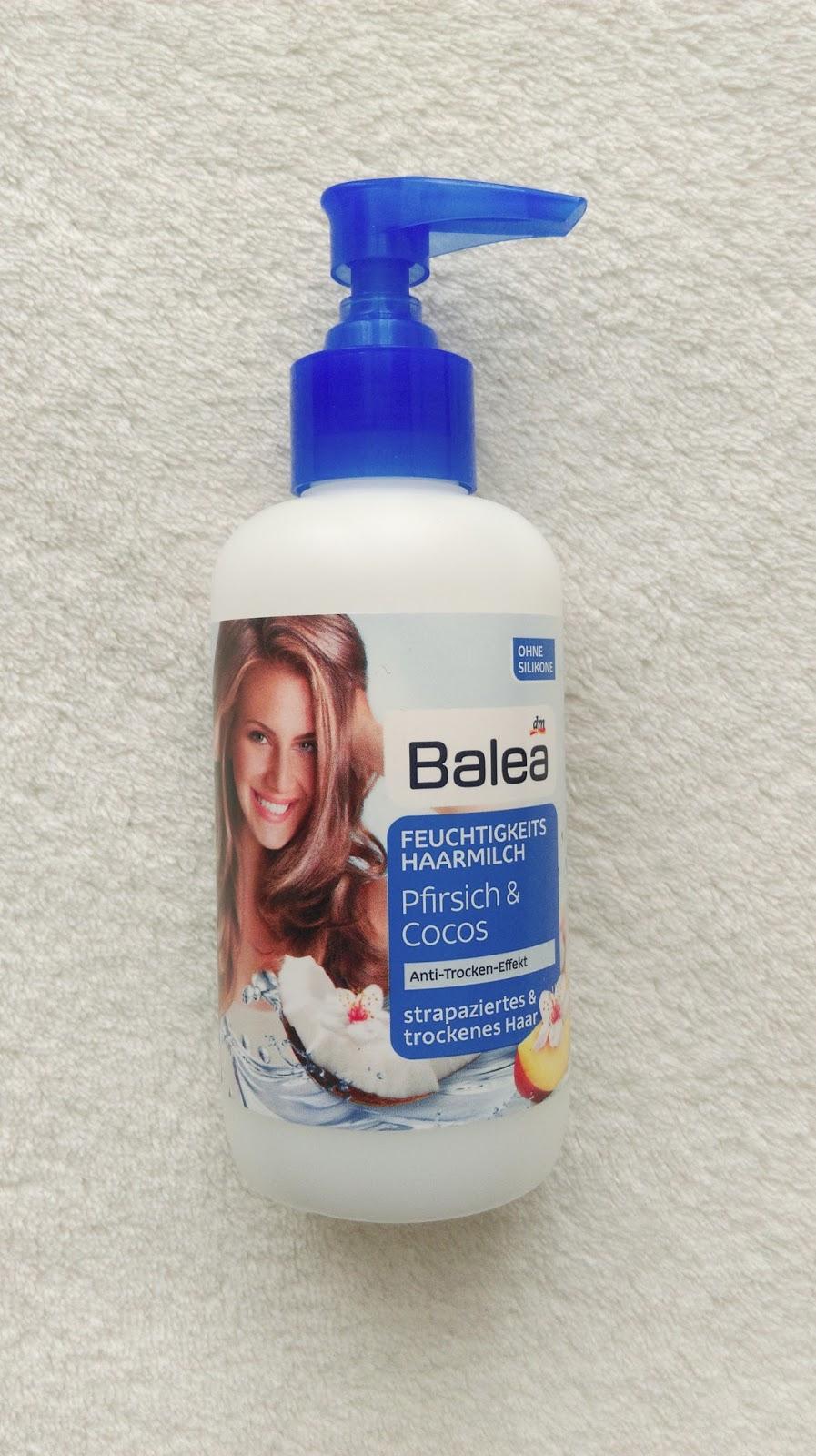 Review // Balea - Feuchtigkeitsspendende Haarmilch