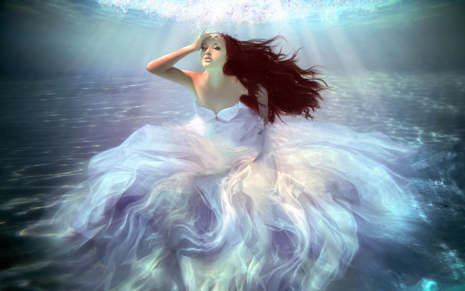underwater mermaid wallpaper - photo #32