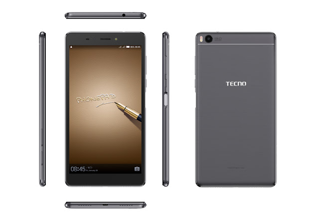 TECNO PhonePad 3 Phablet is for Business Elites alone. See Why