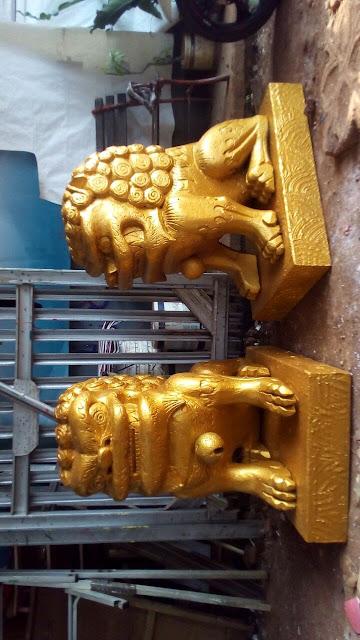 patung / sculpture art karakter styrofoam