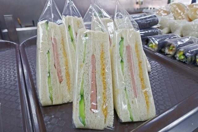 素食火腿三明治