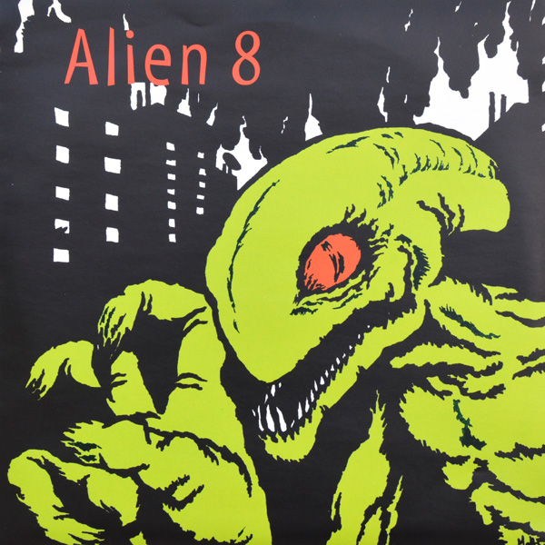 <center>Alien 8 - Never A Moment EP (1998)</center>
