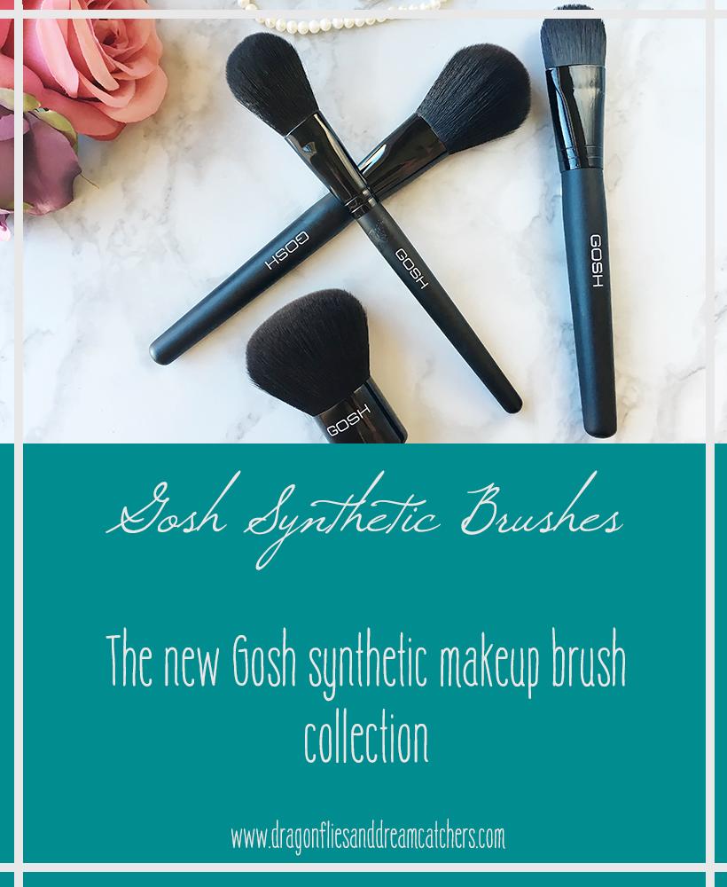 Gosh, Makeup, brushes