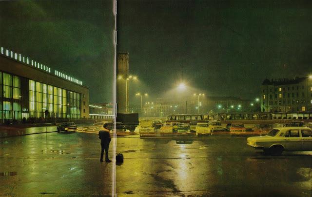 1970-е годы. Рига. На Привокзальной площади