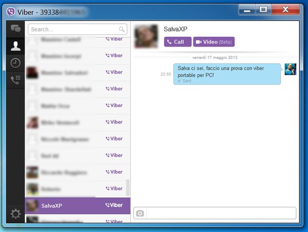 Viber Unplugged: Viber Portable for Windows - On your