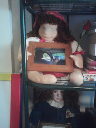 In Memory Of Lena..she made this doll for me and sent it from Sweden when I was very ill