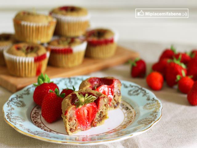 Muffin alle Fragole Sugarfree