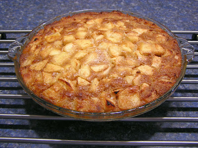 Gluten & Dairy Free Apple Custard Cake