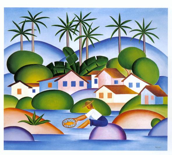 Pinturas de Tarsila do Amaral | Modernismo Brasileiro