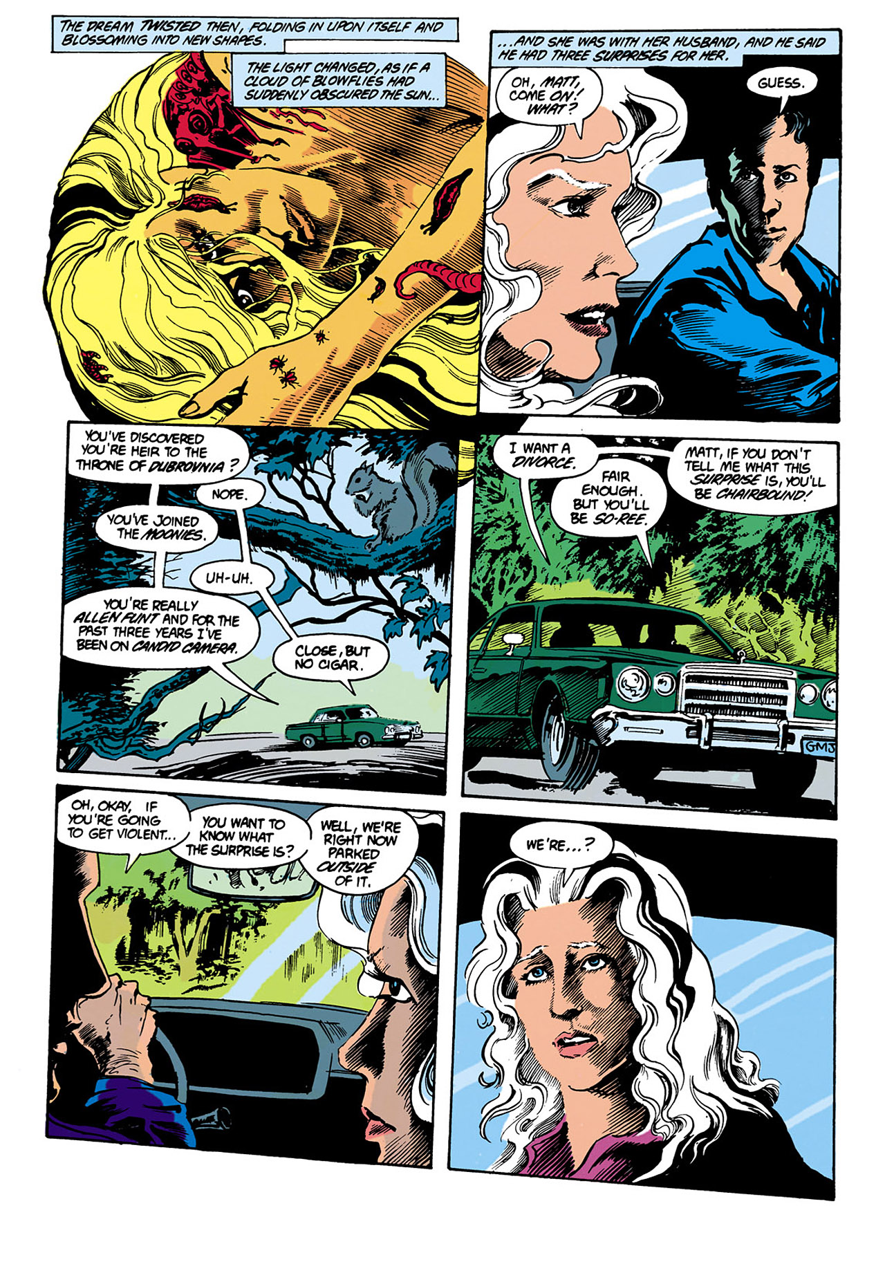Swamp Thing (1982) Issue #29 #37 - English 6