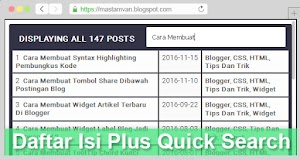 Sitemap Table fast loading